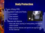 body protection69