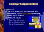 employer responsibilities7