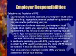 employer responsibilities8