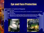 eye and face protection19