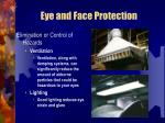 eye and face protection20