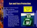 eye and face protection21