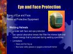 eye and face protection29