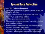 eye and face protection32