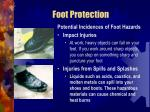foot protection55