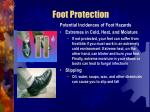 foot protection57
