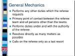 general mechanics
