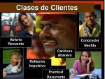 clases de clientes