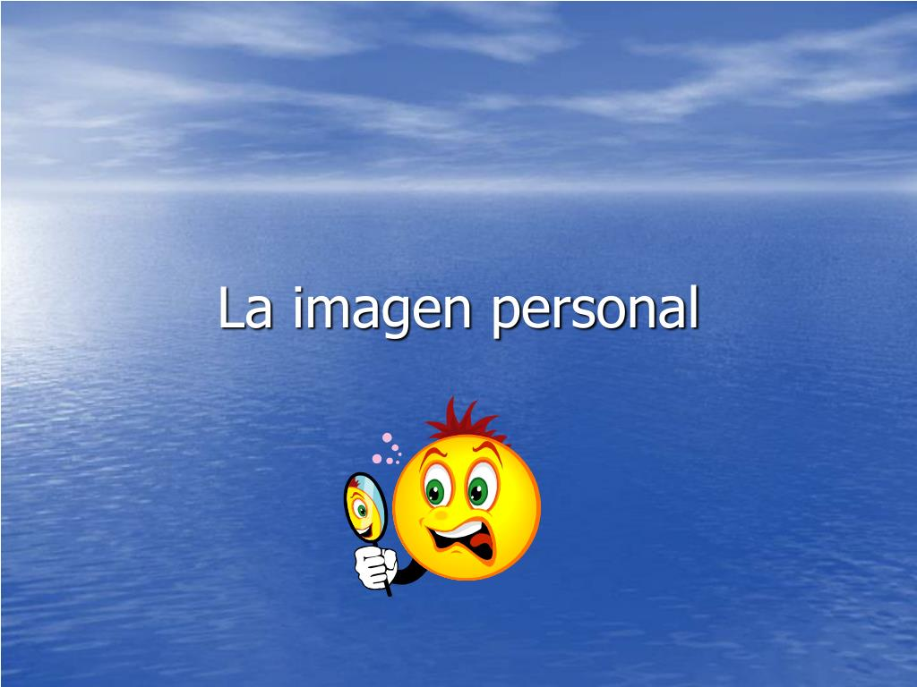 la imagen personal l.