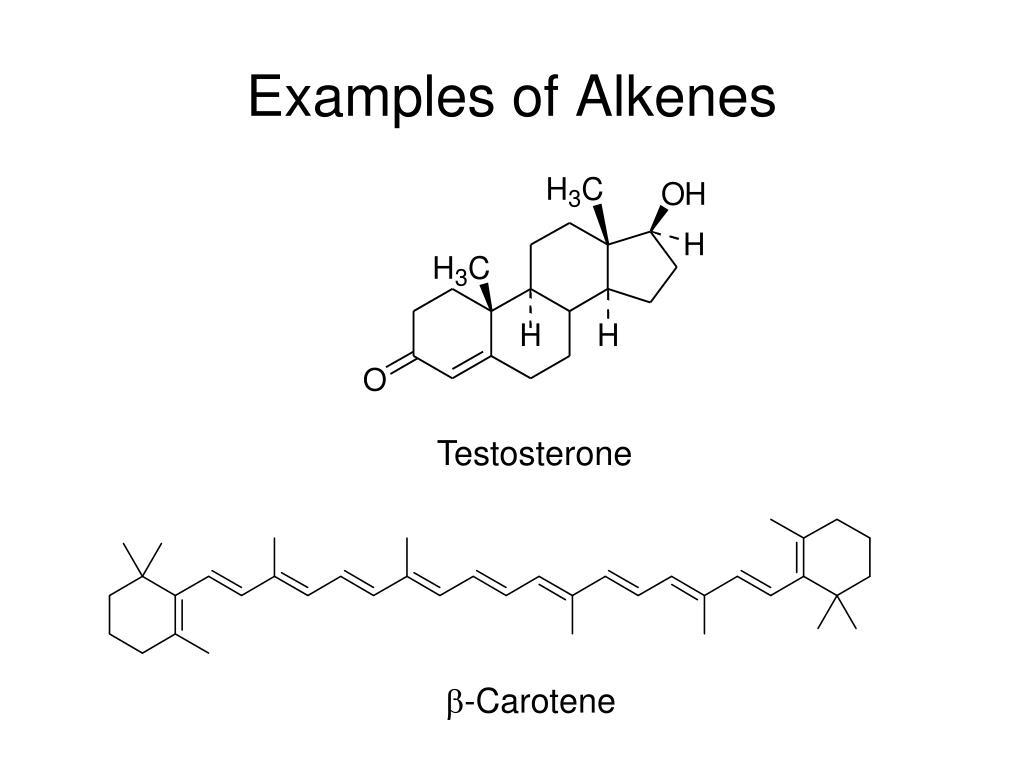 Examples of Alkenes