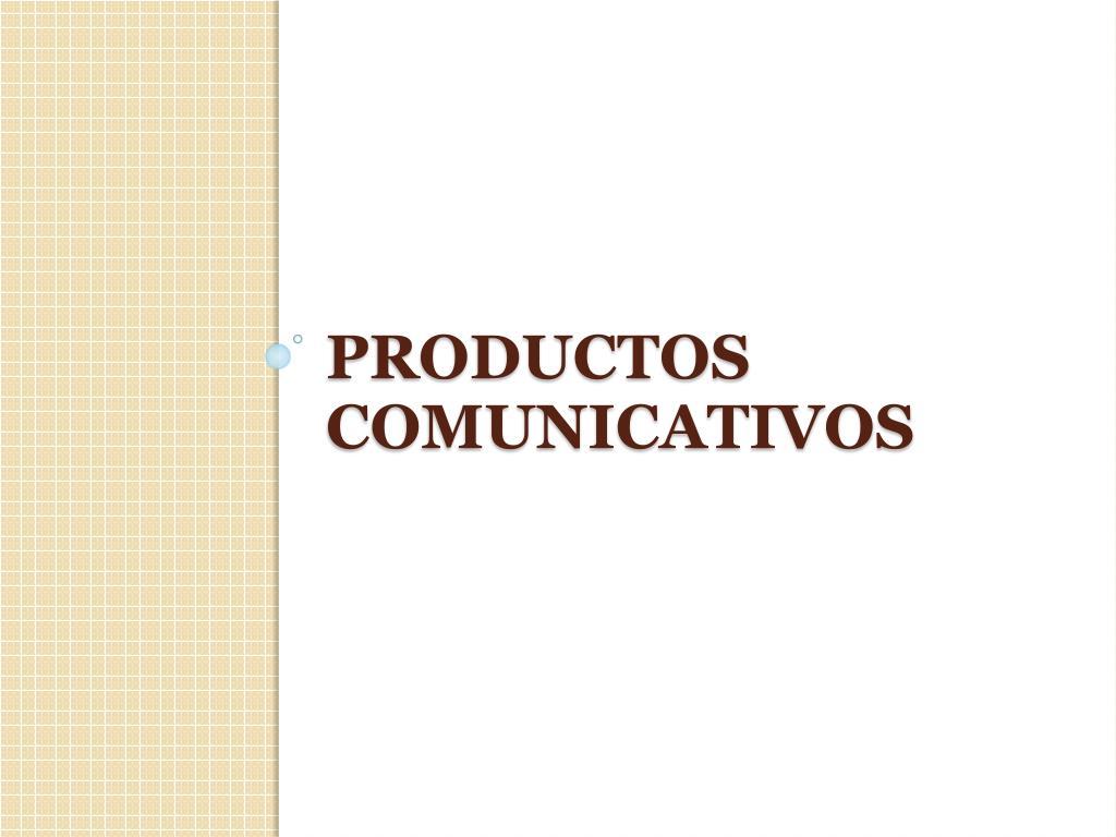 productos comunicativos l.