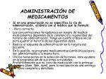 administraci n de medicamentos14