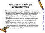 administraci n de medicamentos18