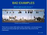 bad examples68
