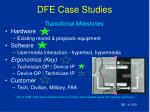 dfe case studies182