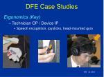 dfe case studies183