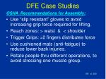 dfe case studies195