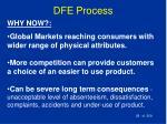 dfe process28