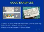 good examples54