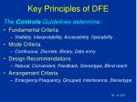 key principles of dfe36
