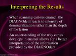 interpreting the results69