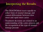 interpreting the results81