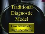traditional diagnostic model