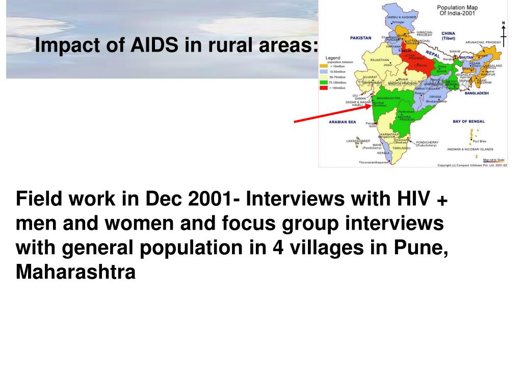 Impact of AIDS in rural areas: