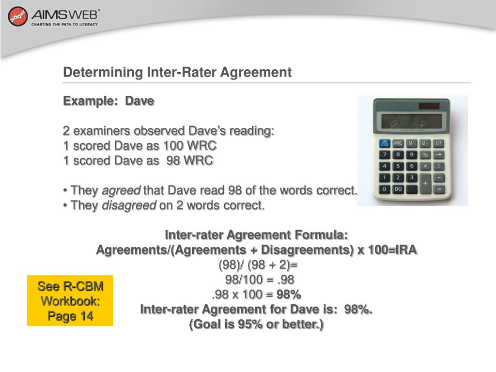 Determining Inter-Rater Agreement
