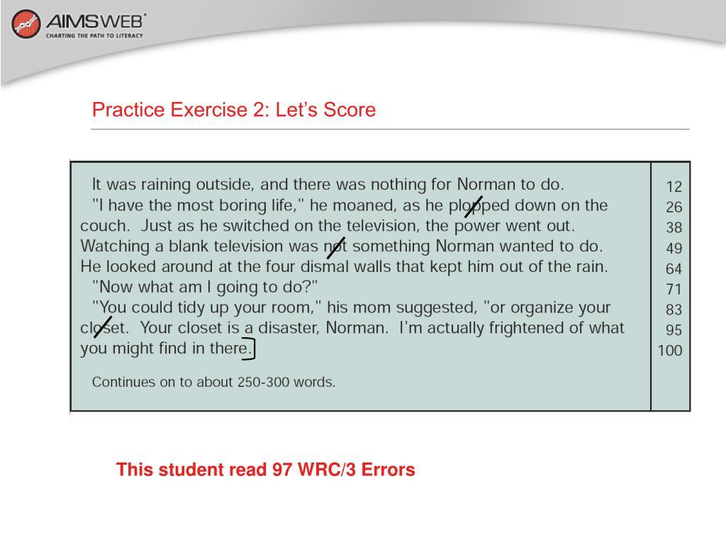 Practice Exercise 2: Let's Score