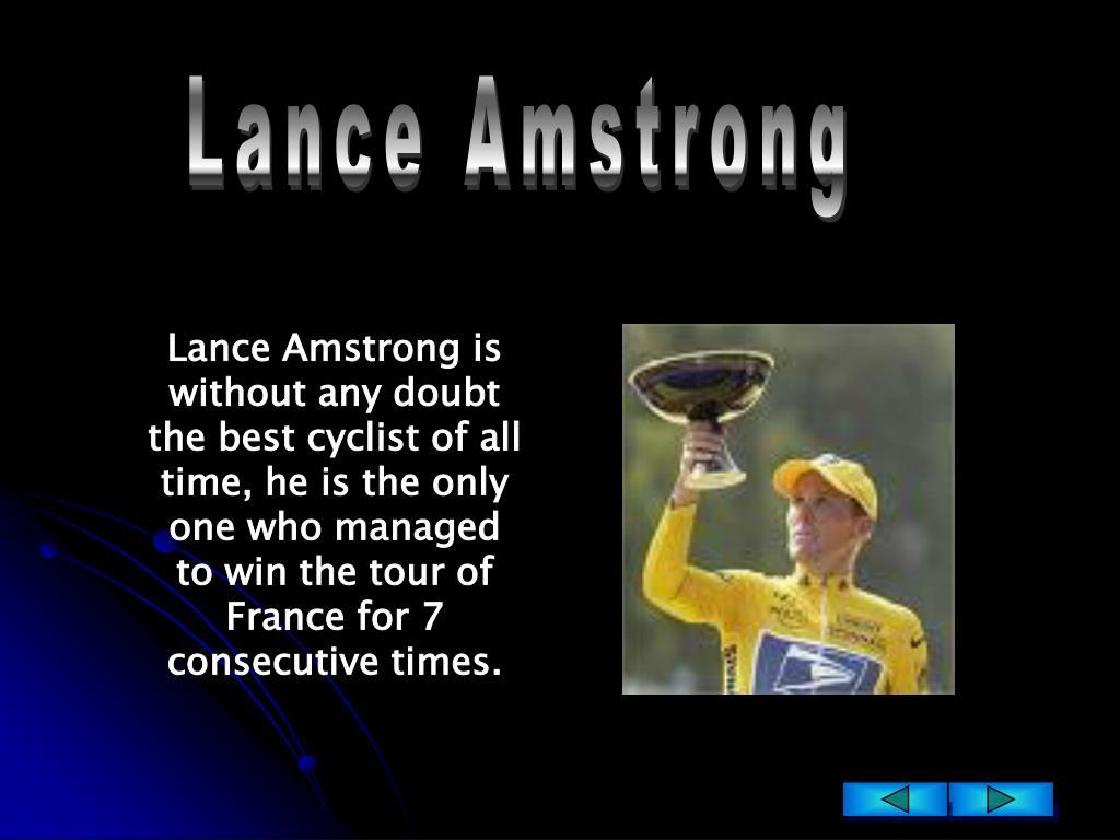 Lance Amstrong