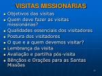 visitas mission rias