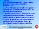 anexo iii vigil ncia epidemiol gica e indicadores epidemiol gicos das infec es hospitalares42