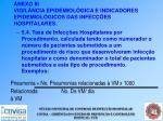 anexo iii vigil ncia epidemiol gica e indicadores epidemiol gicos das infec es hospitalares46