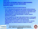 anexo iii vigil ncia epidemiol gica e indicadores epidemiol gicos das infec es hospitalares51