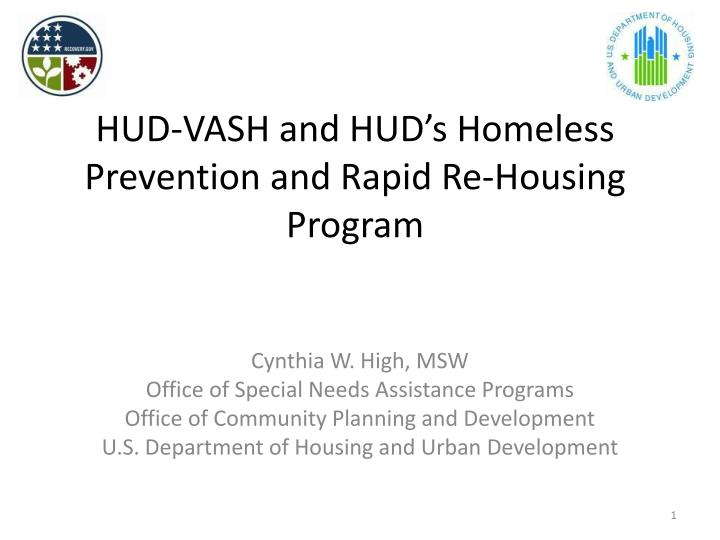 hud vash and hud s homeless prevention and rapid re housing program n.