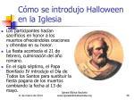 c mo se introdujo halloween en la iglesia36
