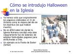 c mo se introdujo halloween en la iglesia38