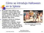 c mo se introdujo halloween en la iglesia39