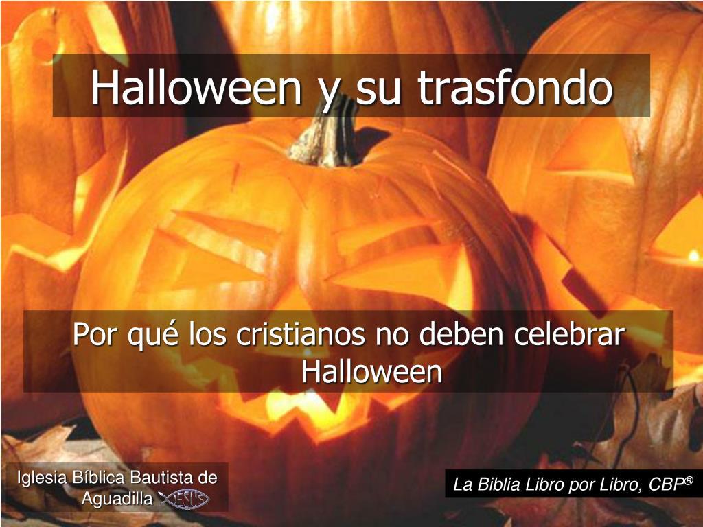 halloween y su trasfondo l.