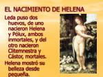 el nacimiento de helena