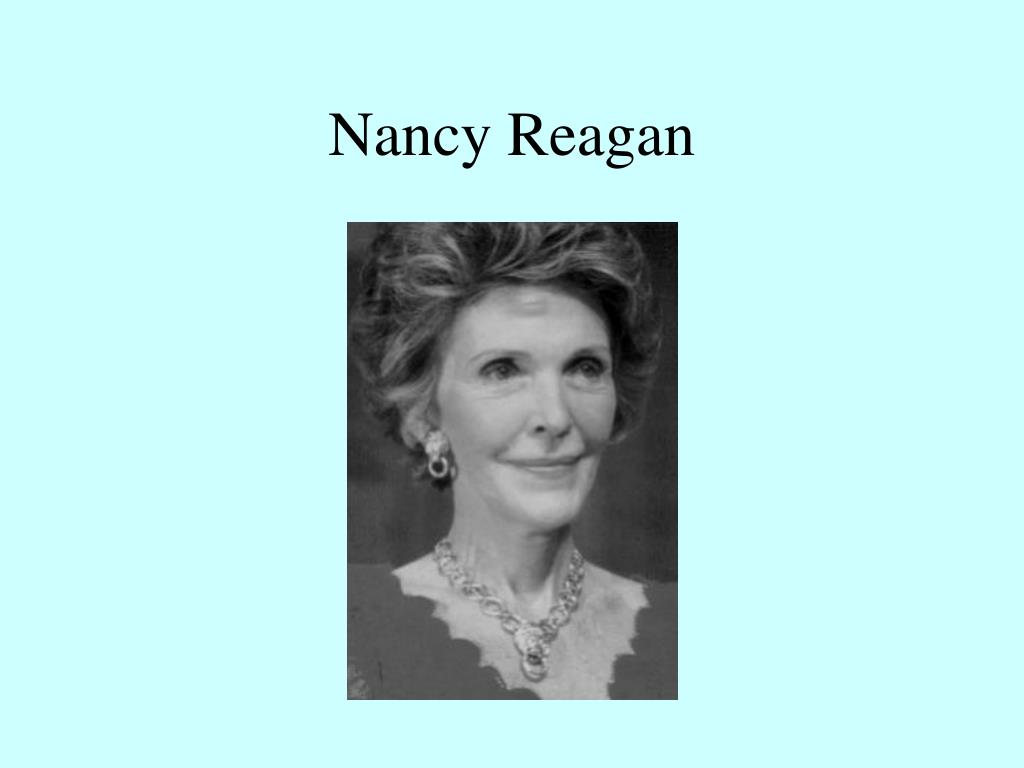 nancy reagan l.