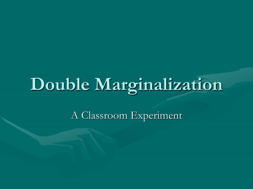 double marginalization l.