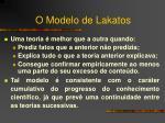 o modelo de lakatos6