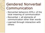 gendered nonverbal communication2