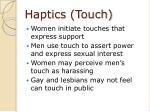haptics touch25