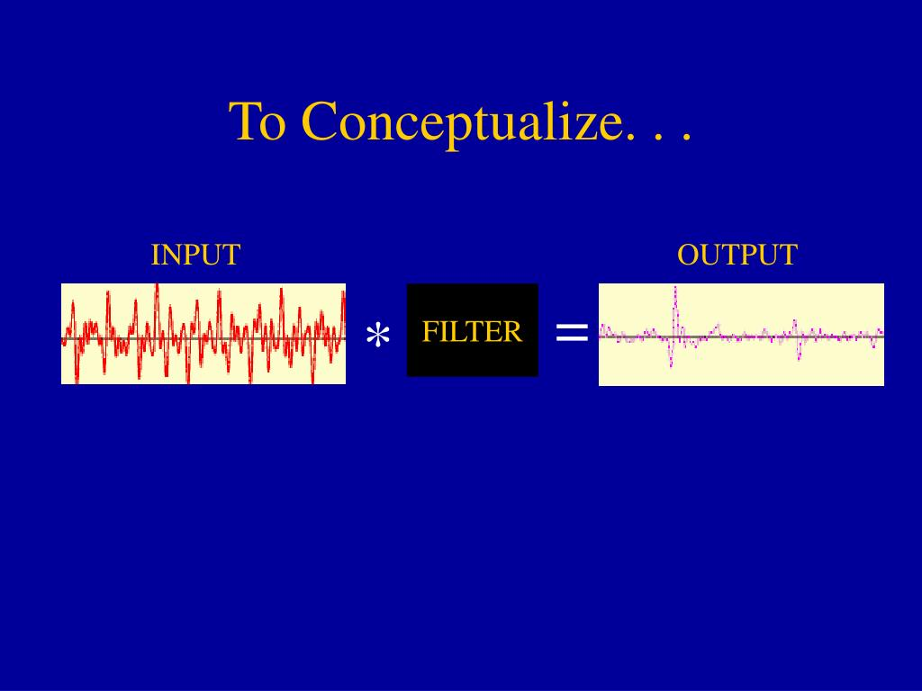 To Conceptualize. . .