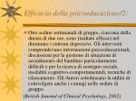 efficacia della psicoeducazione 2