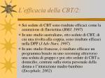 l efficacia della cbt 2