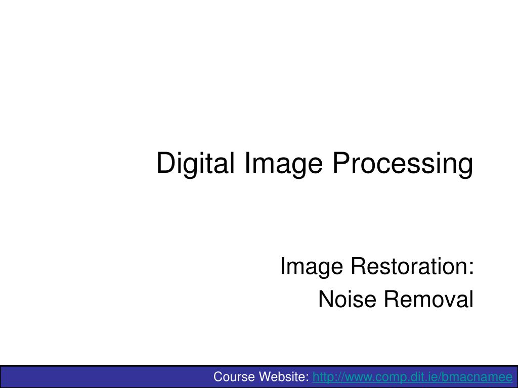 digital image processing l.